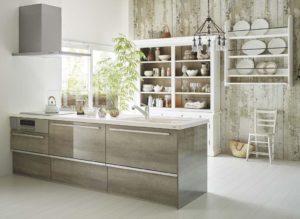 キッチン空間代表例対面キッチン