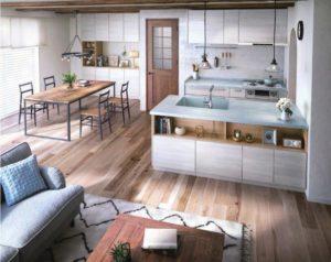 二列型キッチン