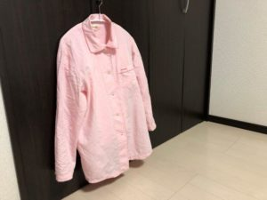 パジャマの収納方法