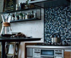 インテリアにこだわったキッチン