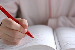 資格取得のための勉強
