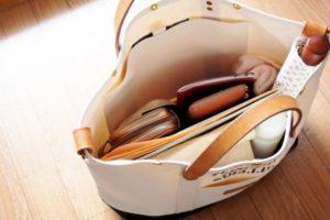 バッグの中身整頓