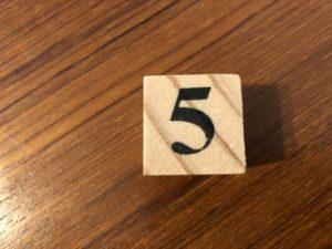 5つの鉄則