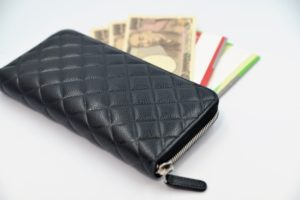 お財布の整理