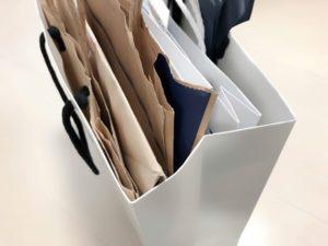 紙袋のストック量