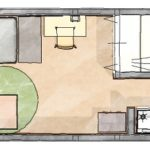 ワンルームの家具配置のコツは2つ!エリア分けと視線のコントロール