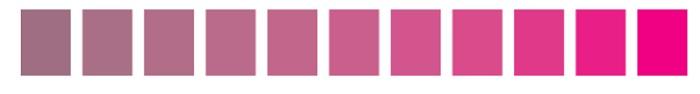 ピンクのトーン