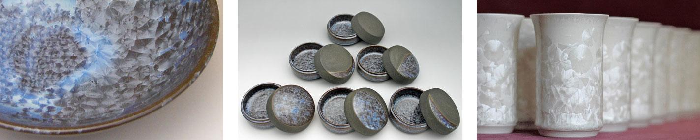 亜鉛結晶釉