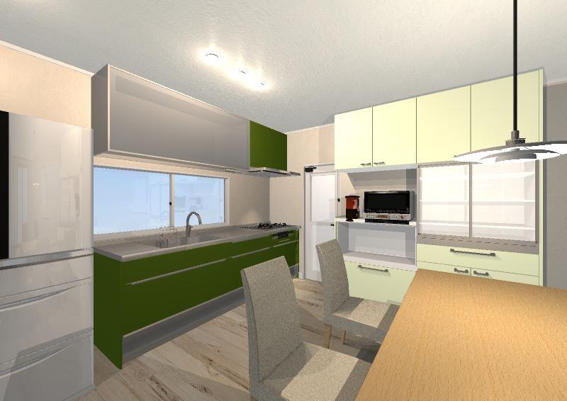 キッチンの作業工程