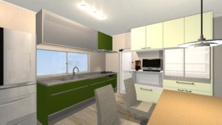 キッチンの冷蔵庫の位置はどこが良い?