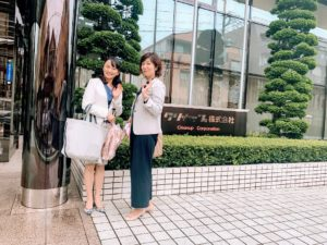 クリナップ様本社で暮らしStyle大熊千賀先生と記念撮影
